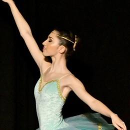 Sabrina, 16 anni e la danza nel cuore In scena con i big della danza