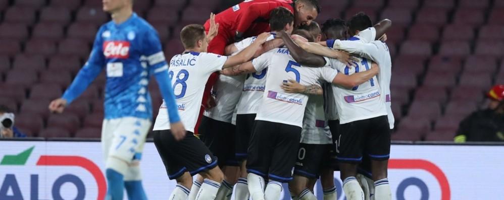 Atalanta, il blitz a Napoli fa sognare Coppa italia e Champions, perché no?