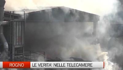Incendio Valcart: immagini al setaccio