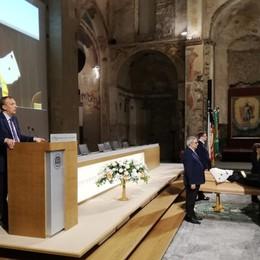 Bergamo, l'addio all'ex rettore Castoldi «Visionario coraggioso»