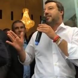 Elezioni, Salvini a Bergamo per Stucchi «Non c'è crisi di governo alle porte»