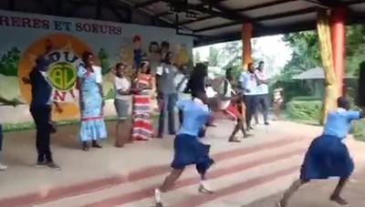 Esultanza per l'Atalanta in Costa d'Avorio