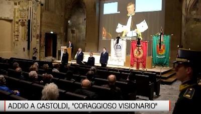 Università - L'addio ad Alberto Castoldi