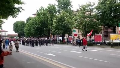 Corteo del 25 aprile a Bergamo