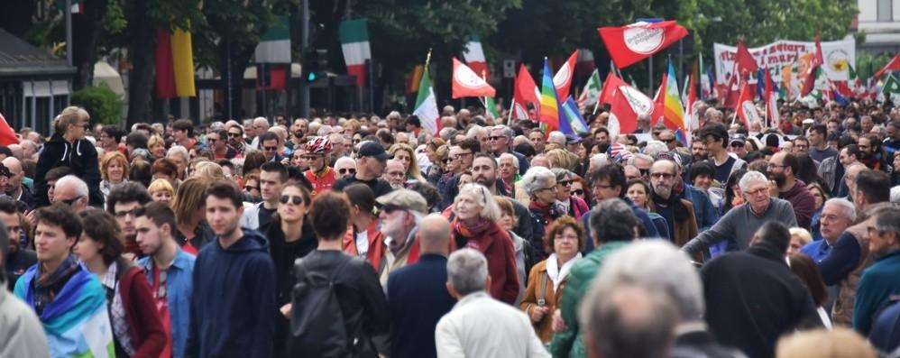 In 3mila al corteo del 25 aprile Bergamo, la celebrazione - Foto e Video