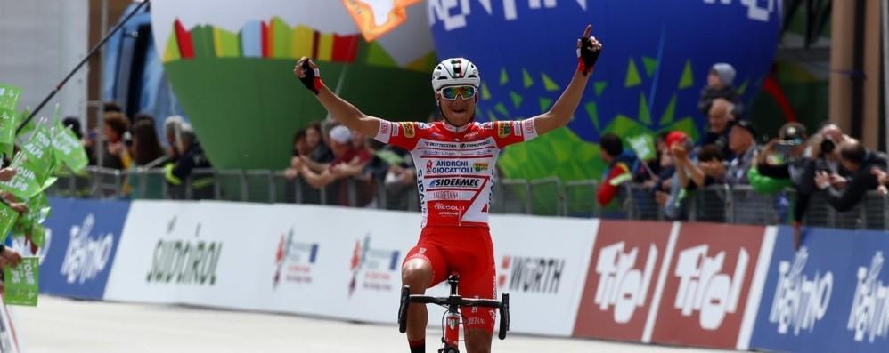 Ciclismo, bergamaschi protagonisti  Al Tour of the Alps, show di Masnada e Cattaneo