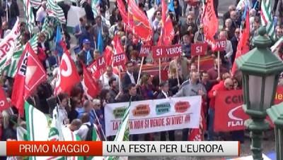 Festa del lavoro pernsando anche all'Europa