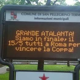 Grande Atalanta, il 15 maggio tutti a Roma Festa nerazzurra sui cartelloni dei Comuni
