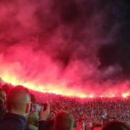 La Nord in «fiamme», è l'affetto dei tifosi Atalanta, folla alla festa della curva- Foto e video