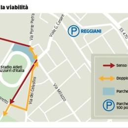 Stadio, cambiano sosta e viabilità Nuovi 100 posti auto alla Reggiani