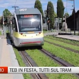 TEB in festa per i dieci anni del tram delle valli