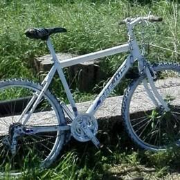 Individuata una bici bianca ad Arcene Potrebbe essere quella rubata a Curno