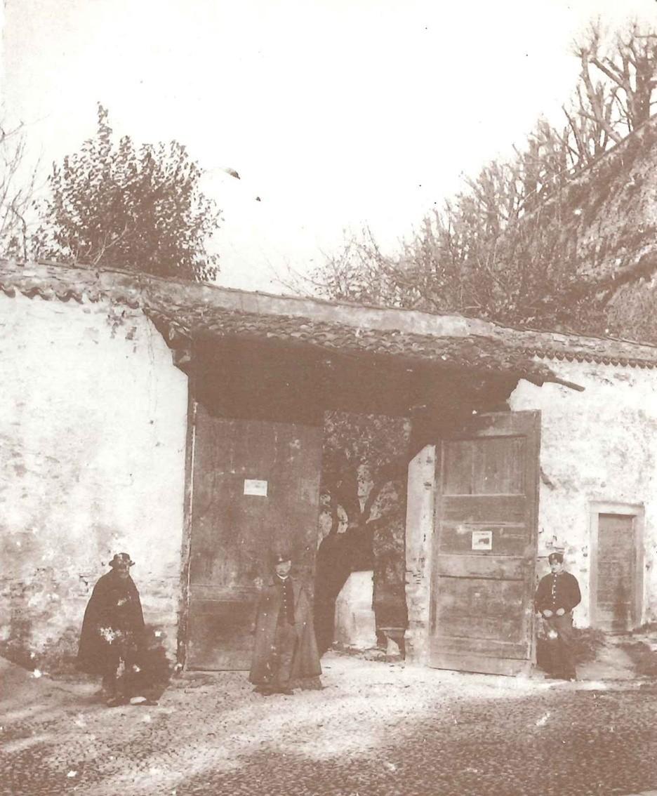 La porta daziaria di via Tre Armi