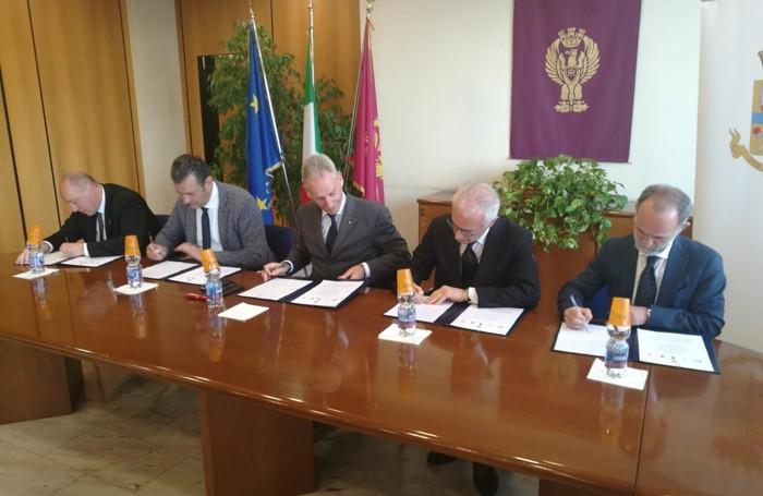 La firma del protocollo d'intesa lunedì 29 aprile in questura