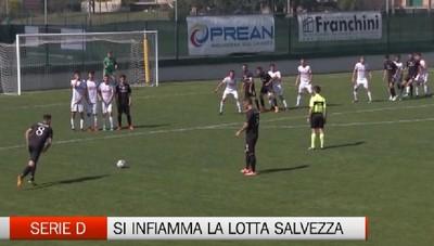 Serie D, Scanzosciate e Ciserano lottano per la salvezza