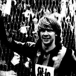 Stromberg sbranava i lupi, 33 anni fa: doppietta all'Avellino (con un gol di capelli)