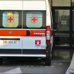 Val Seriana, incidente sulla provinciale Coinvolto un furgoncino, traffico in tilt