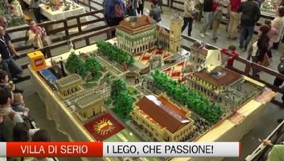Villa di Serio, i mattoncini Lego in mostra