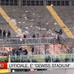 Bergamo, si chiamerà «Gewiss Stadium»