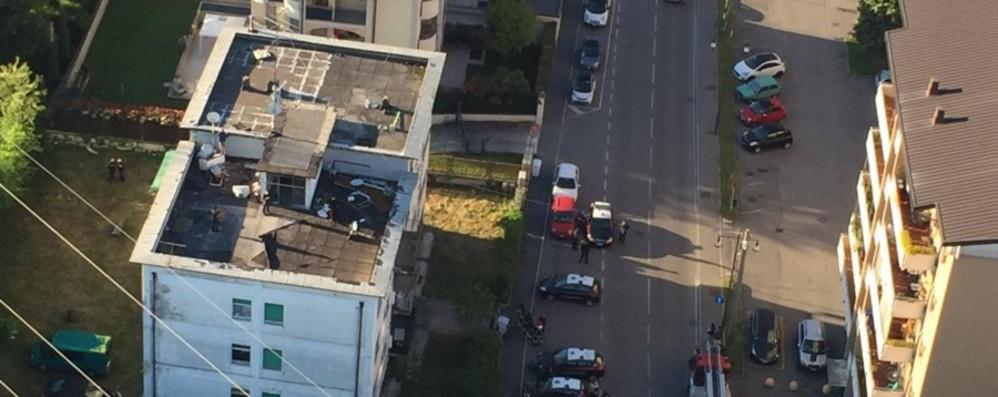Dopo Zingonia, maxi blitz a Treviglio - Foto Droga, rifiuti illegali e un arresto - Video