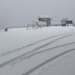 Foppolo, più di mezzo metro di neve E al Pora nel weekend si scia - Foto