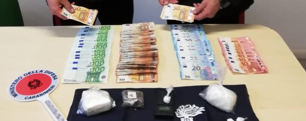 Droga e oltre 10 mila € in contanti Blitz antidroga a Pontida: un arresto
