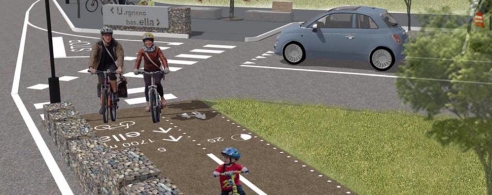 In bici da Urgnano a Basella, pista pronta Tutto fermo per gli ultimi 80 metri quadri
