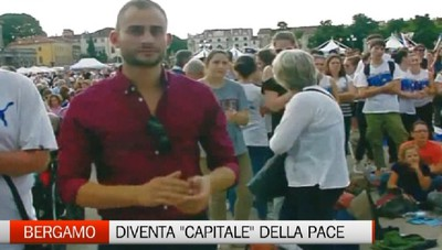 L'11 maggio Bergamo diventa la capitale della Pace