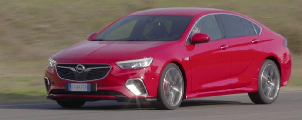 Opel Insignia Al top c'è la GSi