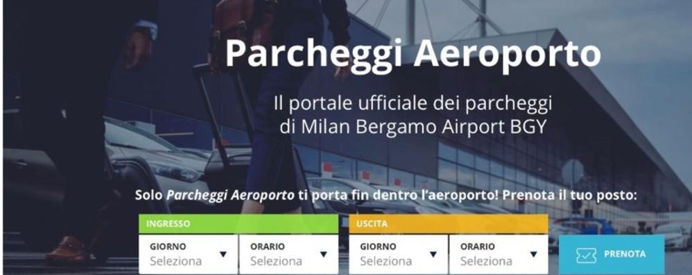 Parcheggi all'aeroporto di Orio Tutte le informazioni sul nuovo sito