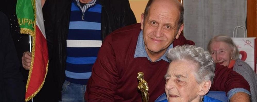 Addio a Vittoria, 103 anni Gestì l'alimentari di Monte Marenzo