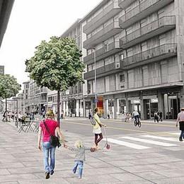 Tavoli quadrati e niente sedie in plastica Regole ferree per la nuova via Tiraboschi