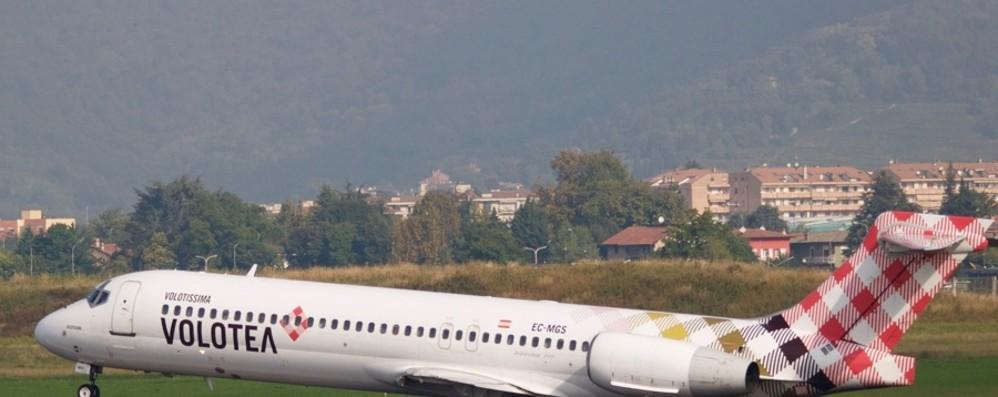 Nuovi collegamenti per Olbia Con Volotea da Orio aumentano i voli
