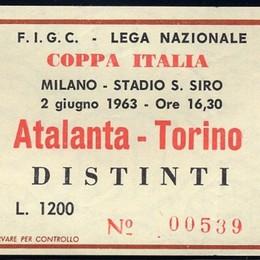 «Io c'ero»: cartoline da San Siro, Coppa Italia 1963