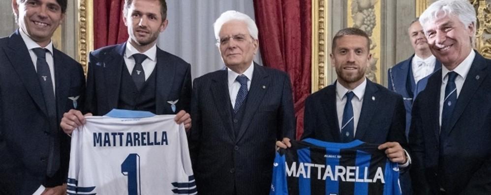 L'Atalanta da Mattarella - Foto e video «Sia una partita senza simulazioni»