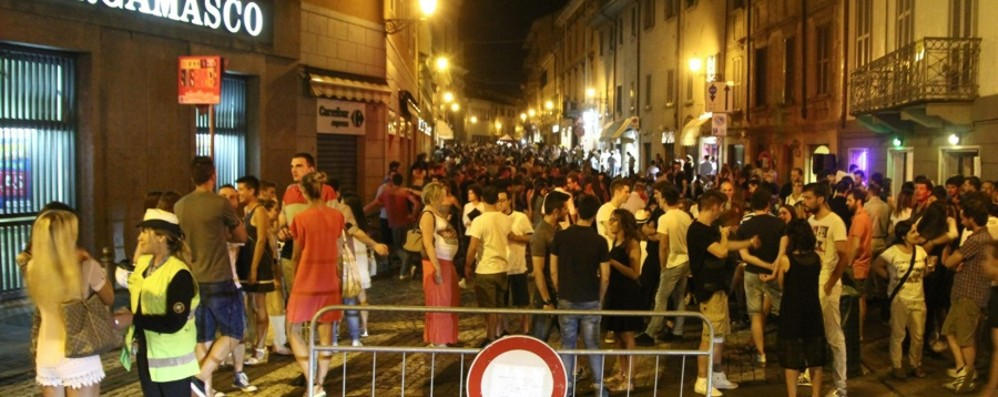 Movida, divisi i commercianti Venerdì a rischio in Santa Caterina