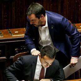 Salvini più a destra Conviene ai 5 Stelle