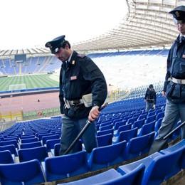Atalanta-Lazio, scatta il piano sicurezza Bonifiche e controlli allo stadio Olimpico