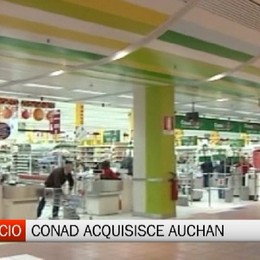 Grande distribuzione - Auchan cede a Conad: in Bergamasca preoccupazione per 700 lavoratori