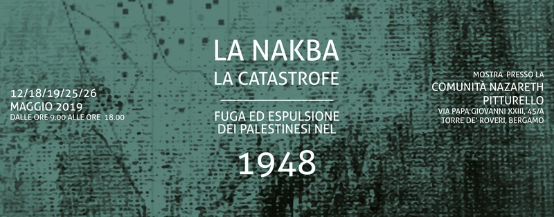 LA NAKBA - FUGA ED ESPULSIONE E I PALESTINESI NEL 1948