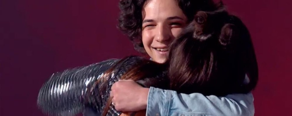 Ponteranica, Andrea a «The Voice» Entra nel talent con la Lamborghini
