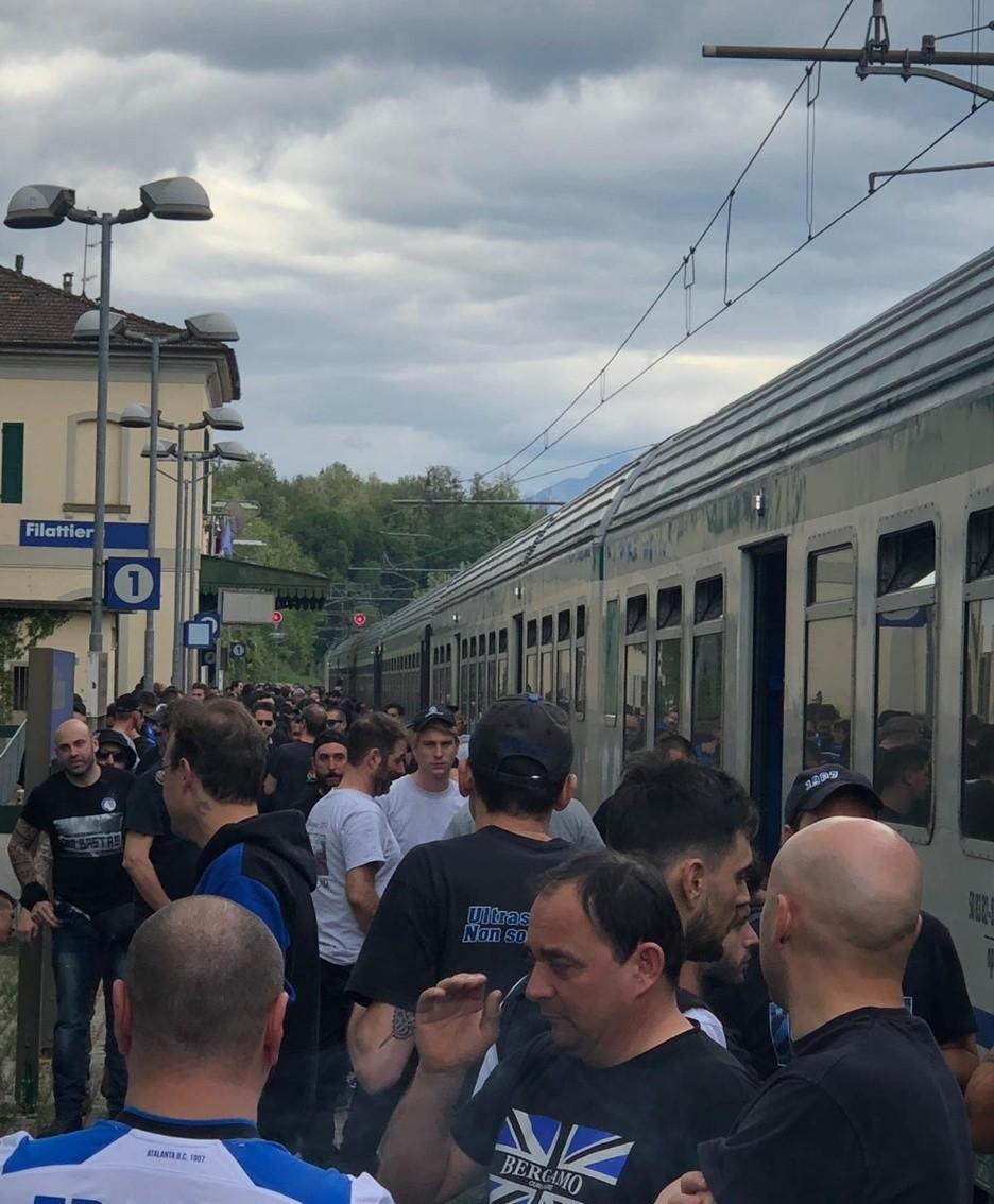 I tifosi fermi a Pisa