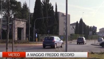 A Maggio freddo record: non si tremava cosi da 30 anni