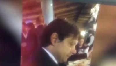 Il video del dialogo tra Lotito e Inzaghi