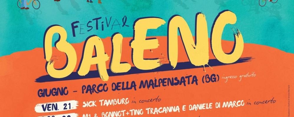 La Malpensata si trasforma in un «Baleno» 2.a edizione del festival di arte e cultura