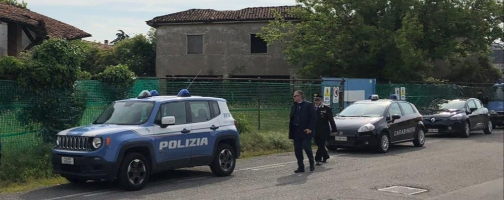 Osio Sotto, blitz in un'area abbandonata Espulsi due stranieri irregolari