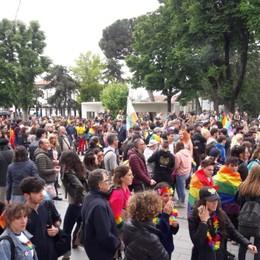 Bergamo, oltre tremila per il Pride Il corteo ha attraversato la città