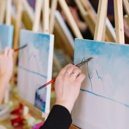 Treviglio, i bimbi a lezione d'arte