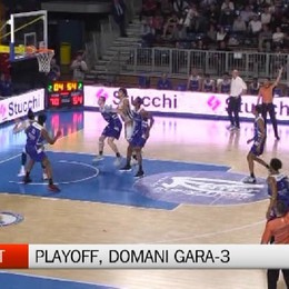 Basket, vigilia di gara-3 dei playoff