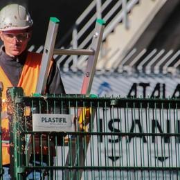 Curva Pisani, lunedì il «Demolition Day» Si può assistere al primo colpo di pinza